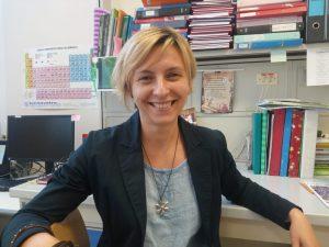 La dott.ssa Federica Pollastro nel suo ufficio