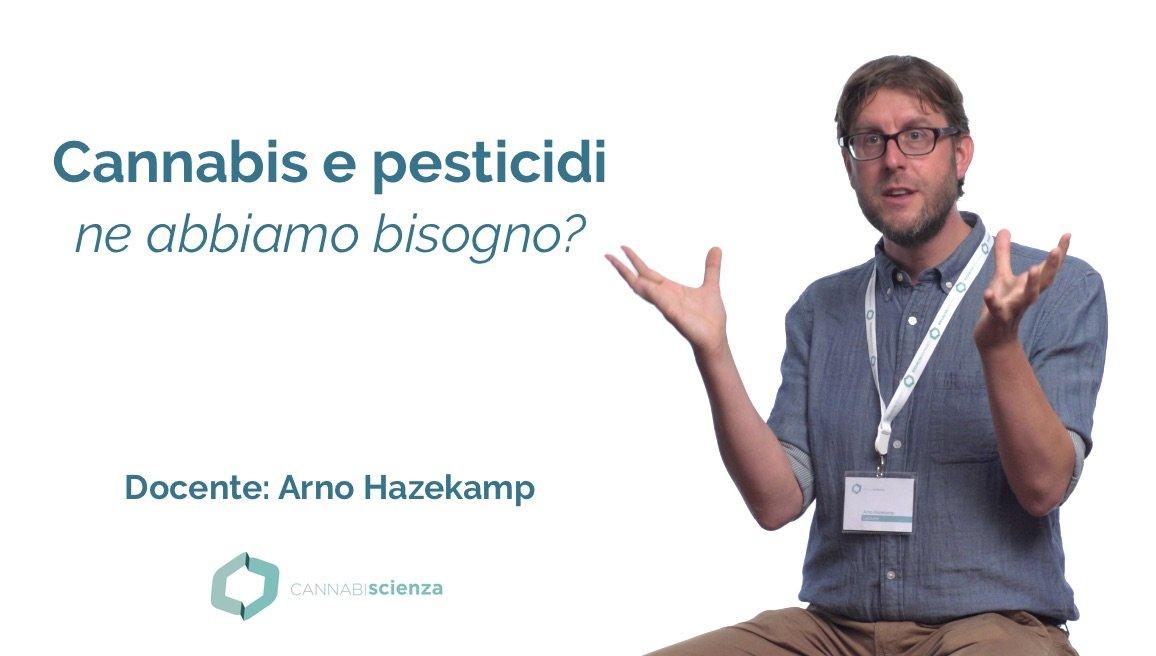 Cannabis e pesticidi - Arno Hazekamp