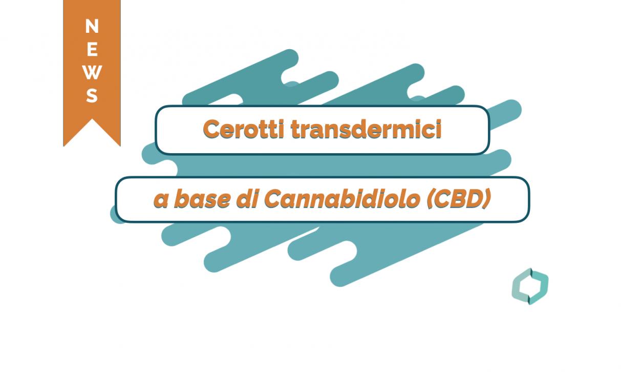 Cannabiscienza - Cerotti transdermici a base di CBD effetti miorilassanti