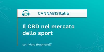 Il CBD nel mercato dello sport - Cannabis Italia - Cannabiscienza - Sito
